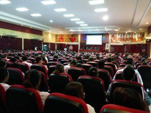 auditorio 300x225 Éxito rotundo del VI Encuentro Centroamericano de Software Libre