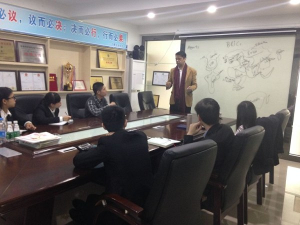 BRICS Sales Workshop for Chinese Company in Guangdong, China