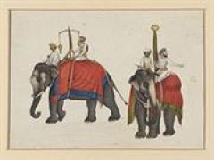 Two_elephants_carrying_the_fish_and_sun_insignia_of_Mughal_sovereignty
