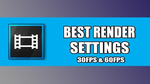 Medium Of Best Sony Vegas Render Settings