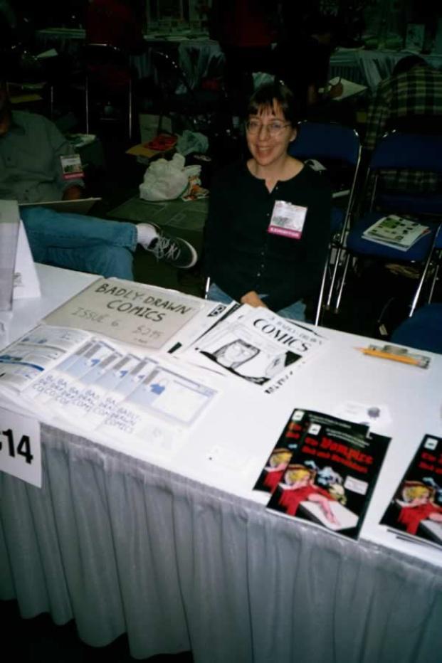 Martha at Comic-Con International: San Diego - 2000