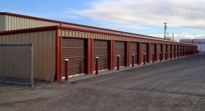 Commercial mini-storage.
