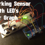 Arduino – Ultrasonic Sensor with LEDs and buzzer