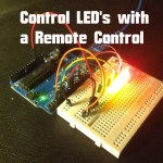 Arduino – Control LED's with IR Remote Control