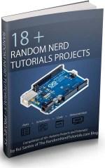 Random Nerd Tutorials - eBook cover