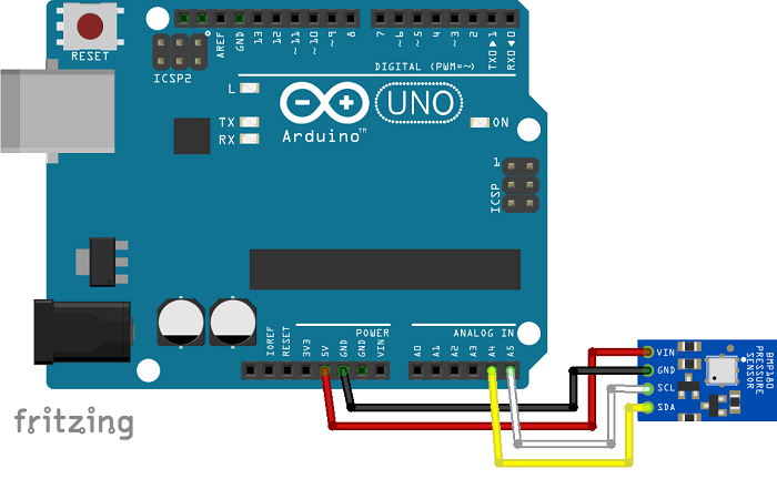 BMP180 Barometric Sensor Arduino Random Nerd Tutorials
