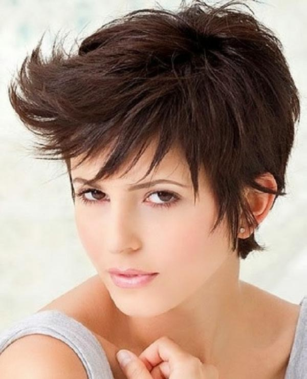 Short Spiky Messy Hairstyles For Women Short Spiky Hairstyles For
