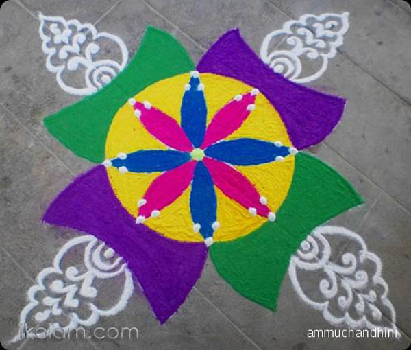 18 Very Simple Rangoli Designs For Beginners to Start With ...