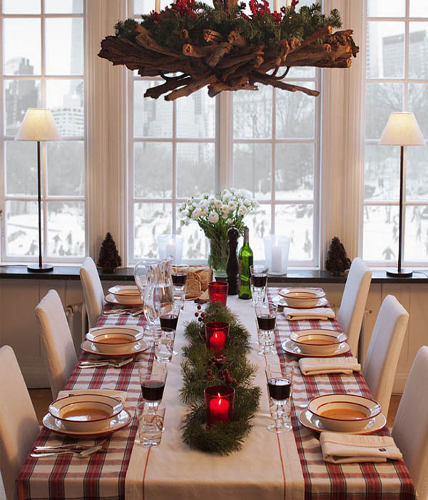 50 wonderful christmas decorating ideas to make your for New england dining room ideas