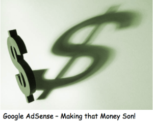 Google Adsense graphic