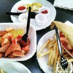 Frogmore stew and all the fried standards at Bowens Islandhellip
