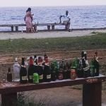 Party all weekend on the seashore in Maputo Mozambique