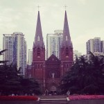 Xujiahui Cathedral where we met while dating at the convenienthellip