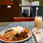 Cayman Islands home cookin', mix of stew beef and oxtail,…