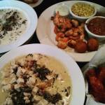 Standout meal of the trip geechie wings Lowcountry ravioli oysterhellip