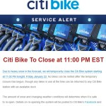 CitiBike Winter Weather