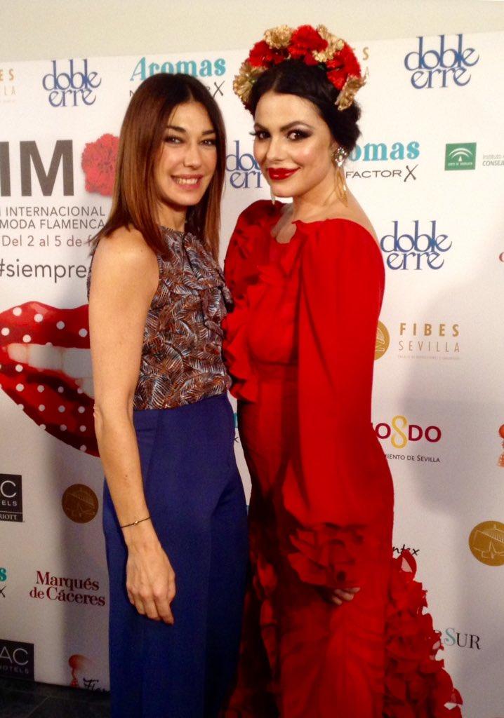 Raquel con Marisa Jara