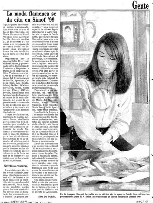 SIMOF 1999. Lee la entrevista de ABC aquí