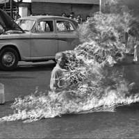 The burning monk, 1963