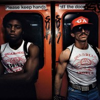 Guardian Angels on the NYC subway, 1980
