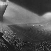 Highbury Stadium in London, 1951