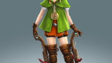 Linkle The New Female Version of Link from The Legend of Zelda Joins Nintendo