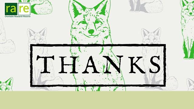 Green fox, rare logo, Thanks.