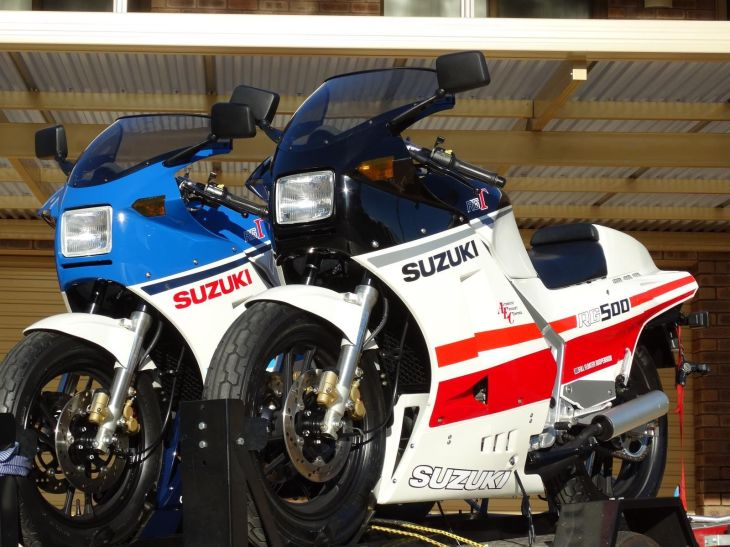 like new suzuki rg500 for sale