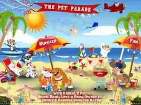 Summer at the Pet Parade animal blog hop