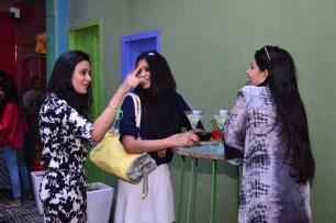 Mitali Wadhwa with guests