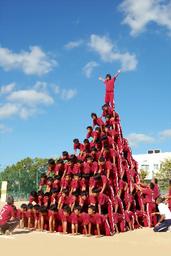 人間ピラミッド2