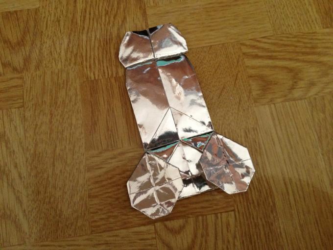 折り紙でチンコ折ったったwwwwwwww