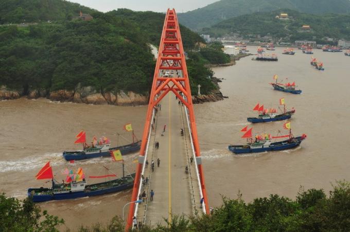 中国監視船団