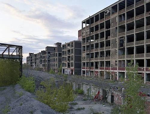 デトロイトの廃墟画像1