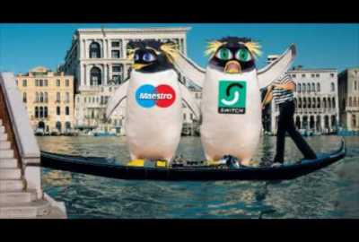 "Switch/Maestro ""Penguins In Venice"" TV commercial"