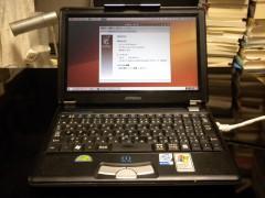 Victor Interlink MP-XP7220にインストールしたUbuntu9.10