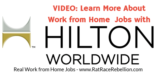 VIDEO: Learn More About Work from Home Jobs with Hilton Worldwide