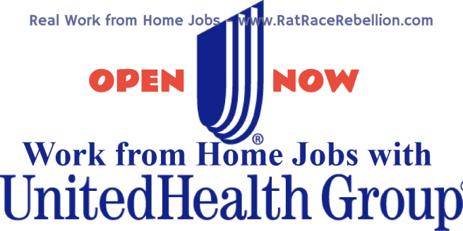 Work from Home Jobs with UnitedHealth Group - RatRaceRebellion.com