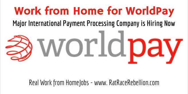 Work from home for WorldPay