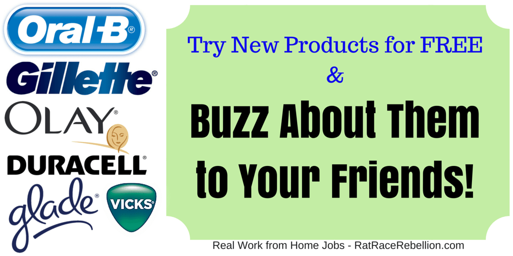 Try New Products (L'Oreal, Vicks, Olay & Others) & Buzz About Them