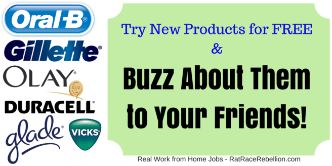 Try New Products for FREE