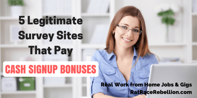 5 Legitimate Survey Sites That Pay