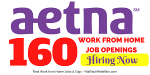 160 Telework Jobs with Aetna - OPEN NOW