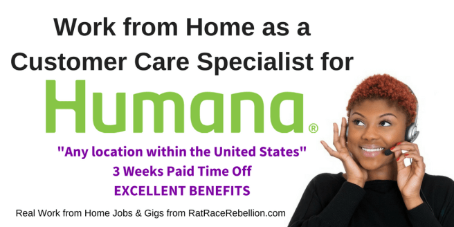 Humana Now Hiring - Work from Home as a Customer Care Specialist