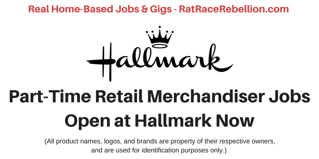 Part-Time Hallmark Card Merchandisers Needed Now