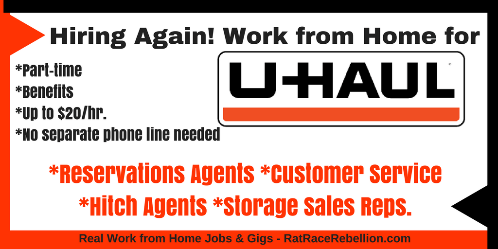 U-Haul Hiring Now - Reservations, Customer Service & More