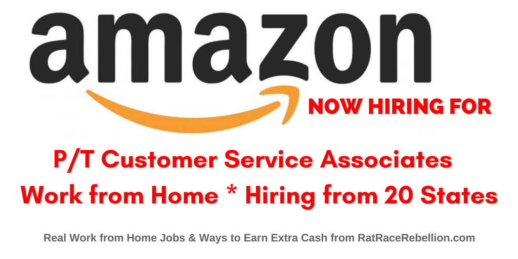 Work from Home at Amazon - Customer Service Associate Jobs Open Now