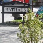 Rathaus Schild Ruppichteroth