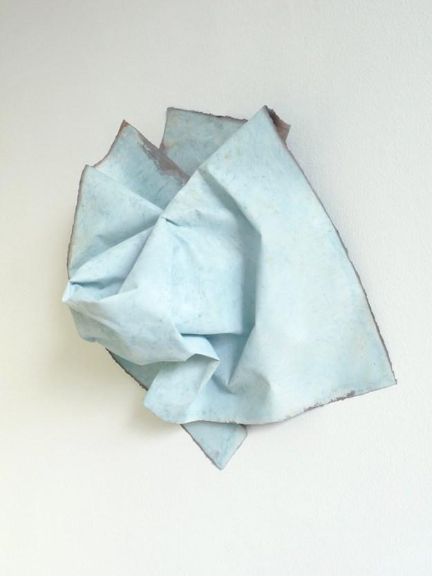 Gletscher, 2013 Tempera on paper. 80 x 80 x 80 cm