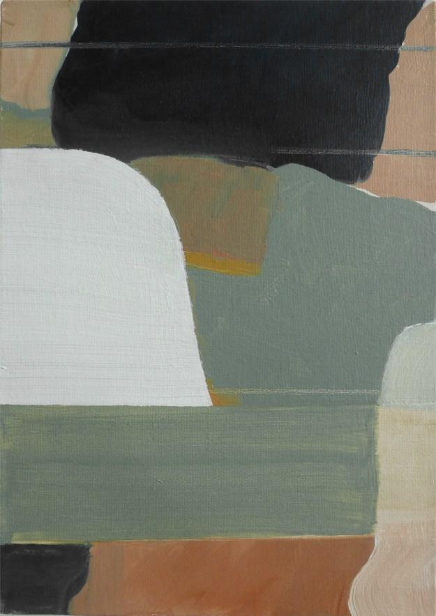 James Geccelli, O.T.,2014 34 x 24 cm